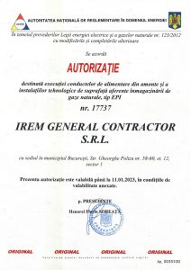 Authorisation ANRE IREM GENERAL CONTRACTOR nr. 17737 - gaze (EPI) - exp. 11.01.2023jpg_Page1