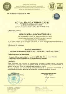 Autorizatie ISCIR - IREM GENERAL CONTRACTOR - Montare, reparare la conducte metalice pentru fluide_3315jpg_Page1